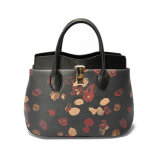 Sacs à main de petite taille de sac d'emballage de cuir véritable de modèle de luxe pour des dames
