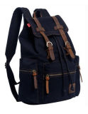 Form Leisure Canvas Backpack mit Real Leather (BSBK036)