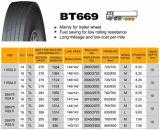 Chinesischer Bt669 11r24.5 Radial-LKW-Reifen mit ECE
