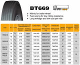 ECEが付いている中国Bt669 11r24.5の放射状のトラックのタイヤ