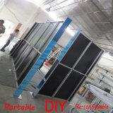 Изготовленный на заказ портативная разносторонняя модульная система заменяет ть хлопает вверх стойка индикации