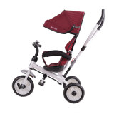 Fahrzeug- mit drei Räderneisen-Rahmen-Baby-Dreirad mit Stoss-Stab