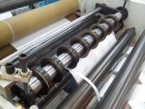 Papel automático, papel de aluminio, cinta adhesiva, máquina que raja de la película del PVC