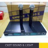 Microfono tenuto in mano senza fili della fase del professionista Lx88 III audio/senza cordone di frequenza ultraelevata