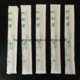Produit et baguettes en bambou de la Chine avec le logo fait sur commande