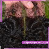 Fermeture de dentelle brésilienne à cheveux 100%