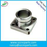 CNCの精密ステンレス鋼、アルミニウム機械化の回転金属のカスタム予備品
