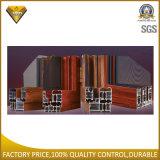 Finestra di alluminio della stoffa per tendine con doppio vetro (75 serie)
