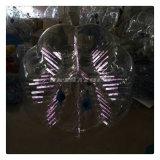 تصميم جديد مدهشة أرجوانيّة لون توهّج [زورب] كرة قدم جسر [زوربينغ] كرة