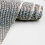 단화를 위한 최신 고침 모조 다이아몬드 메시를 정돈하는 24*40cm 결정 모조 다이아몬드