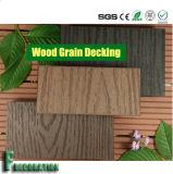 Étage composé en plastique en bois du Decking WPC de matériaux de construction