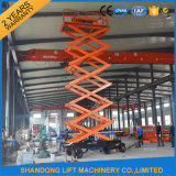 Maintenance를 위한 공중 Hydraulic Vertical Work Platform Street Light Lift