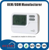 Thermostats programmables hebdomadaires de rf avec du ce EMC LVD d'OIN 9000