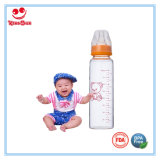 Botellas 8 oz de alta vidrio borosilicato bebé con boquilla suave