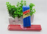 Bougies non-ruisselantes colorées de ménage de cône