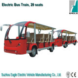 Shuttle elettrico Bus Eg. 6158k con Trailer, 29 Seats