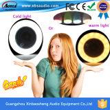 Cadeaux pour le haut-parleur sans fil portatif de Bluetooth de vieux parents avec la lumière d'ampoule de DEL