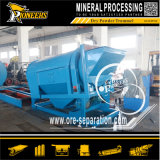 High Efficiency Miner Ore Vibrating Drum Tumbler Mineral Gold Screen