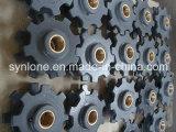 Rueda de cadena del bastidor de arena de hierro gris