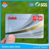 Cartão esperto do espaço em branco RFID da microplaqueta plástica do contato CI