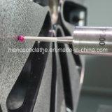 Beschermende Vlakke CNC van de Reparatie van het Wiel van de Legering van de Besnoeiing van de Diamant van het Bed Draaibank (AWR2840PC)