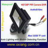 De waterdichte LEIDENE Lichte WiFi Camera van de Vloed P2p DVR voor de Veiligheid van de Verlichting en van het Huis