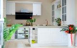 Размер кухни для подгонянной деревянной мебели неофициальных советников президента PVC (zc-030)