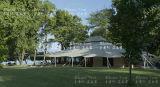 Шатер океана шатра роскошной гостиницы вдоль пляжа для сбывания