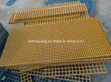 Grate di plastica rinforzate con vetro della fibra calda di vendita