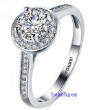 Heet verkoop de Ringen van het Messing van het Zirkoon van Juwelen (R0820)