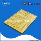 Fornitore composito delle BS En124 Cina del coperchio di botola di SMC