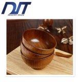 Tazón de fuente resistente ambiental de madera de los tallarines de la azufaifa de la salud por encargo