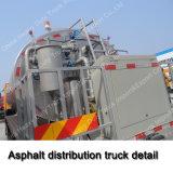 아스팔트 동시 포장 트럭 6X4 아스팔트 배급 트럭