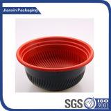 A gettare qualsiasi casella di pranzo di plastica della ciotola delle tagliatelle del contenitore della ciotola dell'alimento di formato