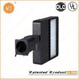 Il parcheggio dell'UL Dlc illumina l'indicatore luminoso esterno 100W del contenitore di pattino di IP65 LED