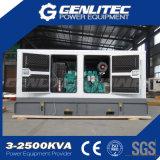 침묵하는 200kw 250kVA Cummins 힘 방음 디젤 엔진 전기 발전기