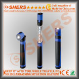 Dual-Function ausdehnbare teleskopische 11 LED-Arbeits-Licht-Fackel-magnetische Unterseite
