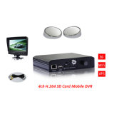 3G 4CH Mdvr /School Bus Mobile DVR con Camera con Monitor con Certificate