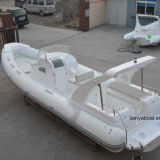 Liya 8.3m China Rib Boat Inflatable Fiberglass Hull Boat