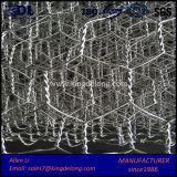 Acoplamiento de alambre de China/jaula hexagonales galvanizados fábrica de Gabion