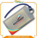 Étiquette de bagages de logo de modèle de propriétaire