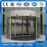 Porta girevole di vetro completa