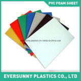 건축 Using Pure White와 Colored PVC Foam Sheet