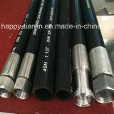 Boyau hydraulique lourd flexible pour des machines d'ingénierie