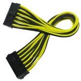 Manga 24 pines ATX de alimentación Cable de extensión del arnés