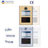 Sistema de teléfono video de la puerta del edificio del TCP/IP para el edificio/el chalet