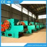 LY-316 10-15 T / H Tipo de motor eléctrico del tambor Trituradora de madera en la acción para la venta