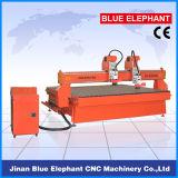 Máquina de madera modificada para requisitos particulares 1325 del ranurador del CNC de la Doble-Pista de la talla