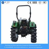 小型農業の農場トラクター55HP 4WD/Farmか庭またはディーゼルまたは庭または芝生またはコンパクトなトラクター