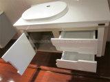 Vanità differente della stanza da bagno del PVC di colore con il Governo laterale (BLS-17323)